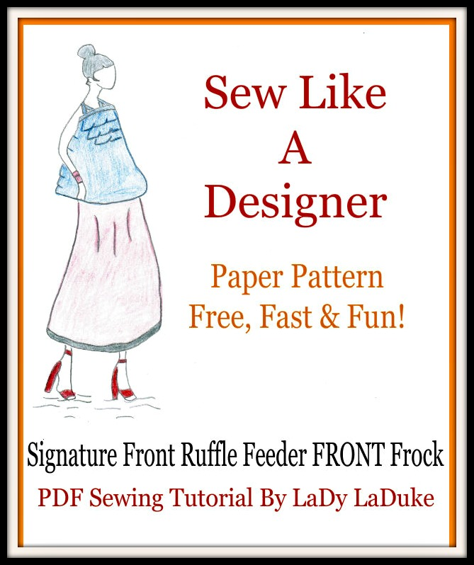 Fabric Patterns Feeder Frock Nursing Cover Sewing Kit-Pre-Cut ...