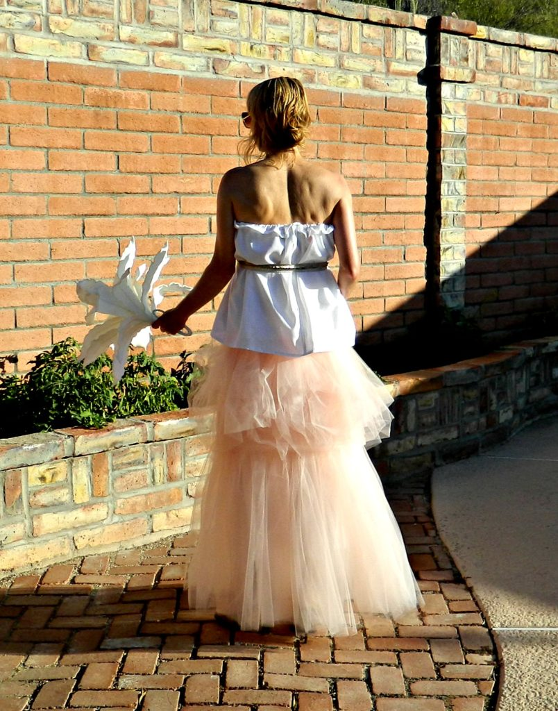 Wedding Dresses for Pregnant Women Bridal Separates Jolie Tulle Maxi ...
